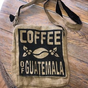 COFFEE of Guatemala burlap bag/lined